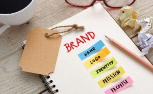Vacation Rental branding stock image